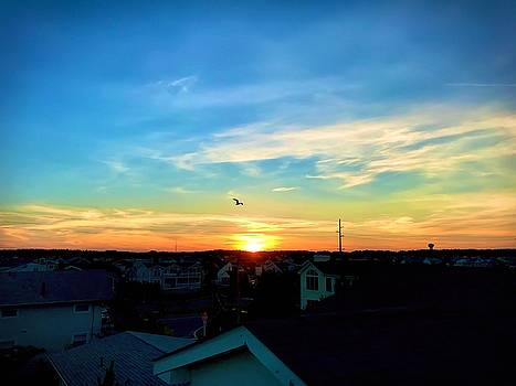 South Bethany Sunset by Chris Montcalmo