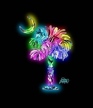 South Carolina logo glow by Jan Marvin
