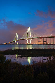 South Carolina Ravenel Cooper River Bridge by Mark VanDyke