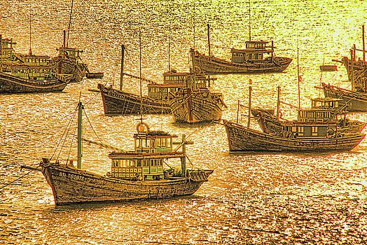 South China Sea Fishing Boats by Dennis Cox Photo Explorer