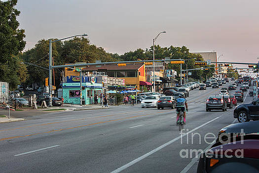 Herronstock Prints - South Congress Avenue is a vibrant neighborhood full of eclectic boutiques, restaurants and live music venues