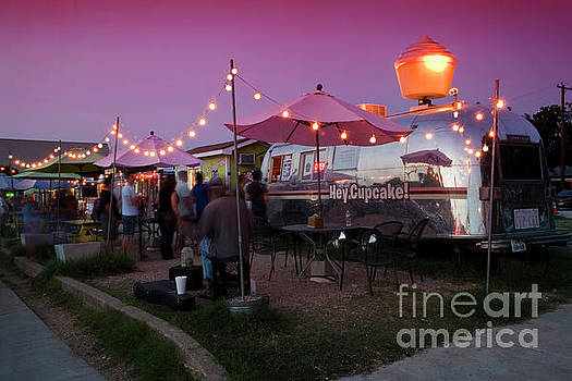 Herronstock Prints - South Congress food trailers serve Austin patrons with delectable cuisine to suit the most discerning palates