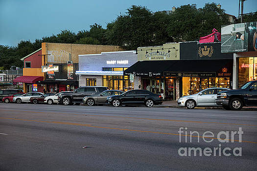 Herronstock Prints - South Congress is a neighborhood located in Austin and is nationally known its many eclectic small retailers, restaurants, music and art venues