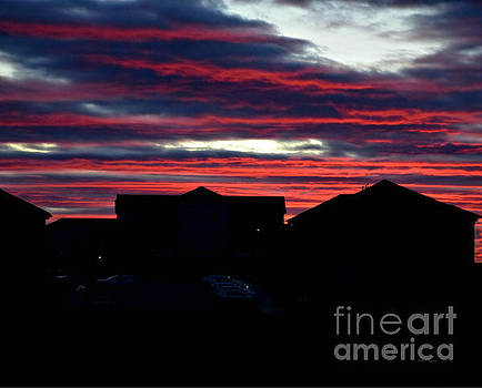 South Dakota Sunrise by Kathy M Krause