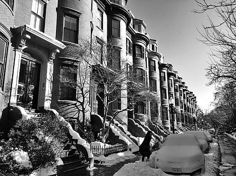 South End in Winter by Rick Macomber