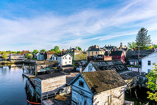 South End Rooftops At Golden Hour by Devin LaBrie