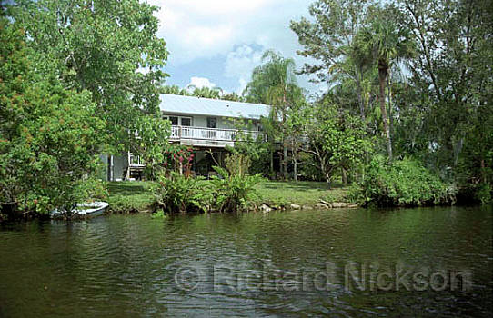 South Fork of St. Lucie River by Richard Nickson