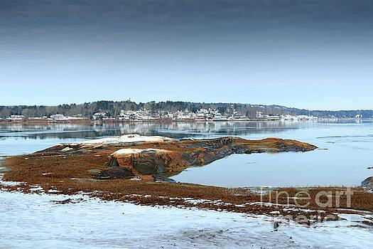 South Freeport Maine by Elizabeth Dow
