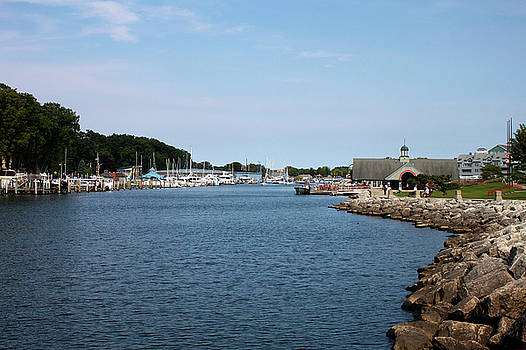 South Haven Harbor in September #2 by Jeff Severson