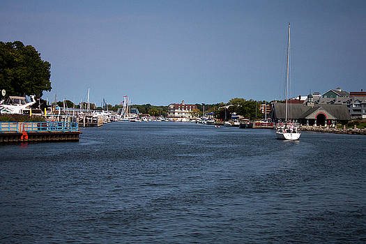 South Haven Harbor in September by Jeff Severson