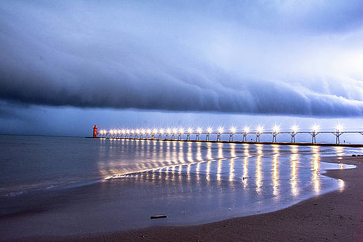 South Haven Shelf Cloud by Colin Collins