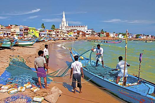 Dennis Cox - South India Beach