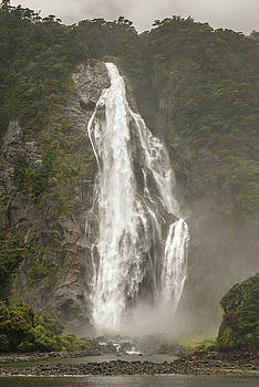 South Island Waterfall by Racheal Christian