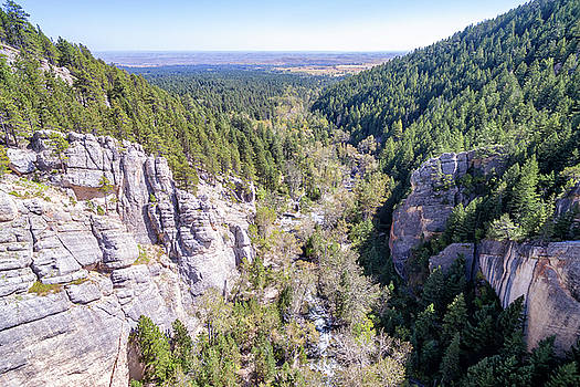 South Piney Canyon Aerial by Jess Kraft