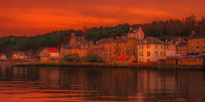 South Queensferry In The Gloaming by Tylie Duff