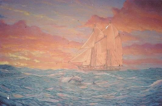 South Seas by Leif Thor Kvammen