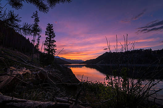 South Shore Lake Dillon Sunset by Michael J Bauer