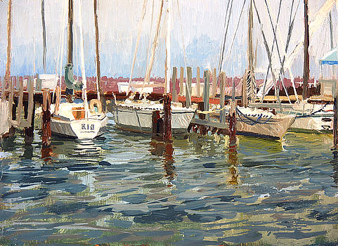 South Shore Yacht Club No.10 by Anthony Sell