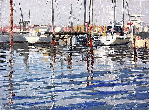 South Shore Yacht Club No.11 by Anthony Sell