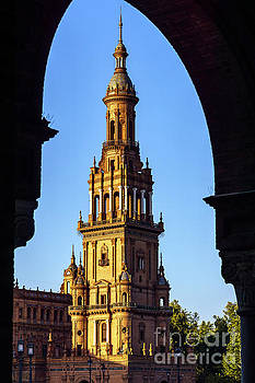 South Tower Maria Luisa Park Seville Spain by Pablo Avanzini