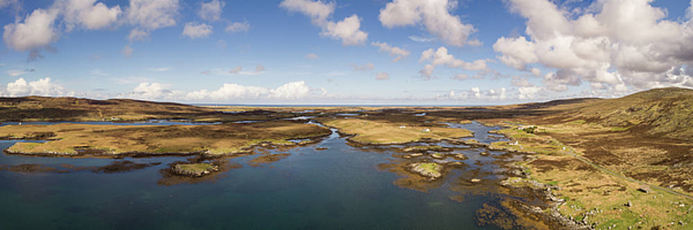South Uist Drone Panorama by Russell Millner
