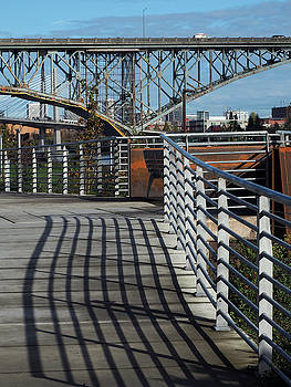 South Waterfront Lines by Kevin Felts