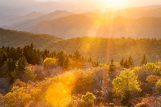 Southern Appalachian Autumn Sunshine by Mark VanDyke