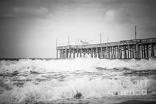 Paul Velgos - Southern California Pier Black and White Picture