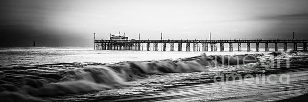 Paul Velgos - Southern California Pier Panorama Photo
