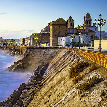 Southern Field and Cathedral Cadiz Spain by Pablo Avanzini