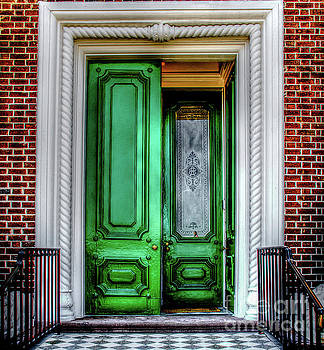 Southern Historic Doors of Splendor by Dale Powell