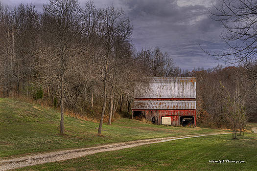 Southern Indiana Barn by Wendell Thompson
