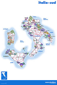 Southern Italy by Moore Brothers Wine Company
