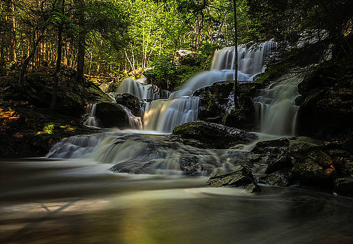 Southern New Hampshire Garwin Falls by Juergen Roth