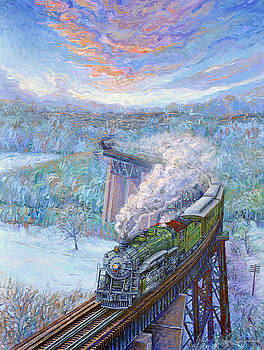 Southern over the Cumberland by Gary Symington