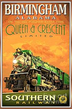 Southern Railway - Poster by Roberto Prusso