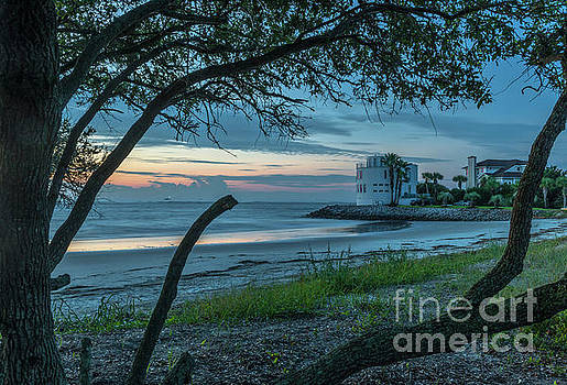Dale Powell - Southern Sunrise over Breach Inlet