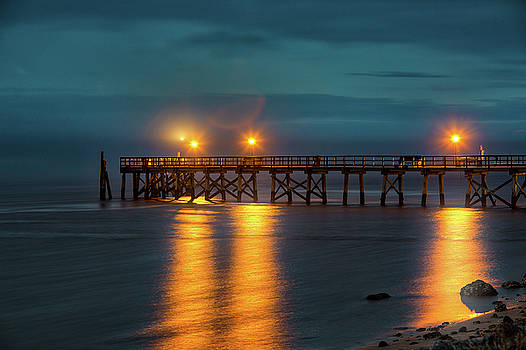 Southport Pier Morning Twilight by Nick Noble