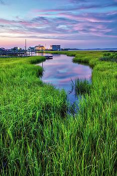 Southport Salt Marsh Sunrise by Nick Noble