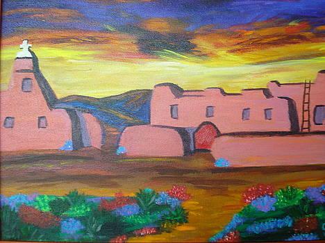 Southwest Adobe by Jan Knott