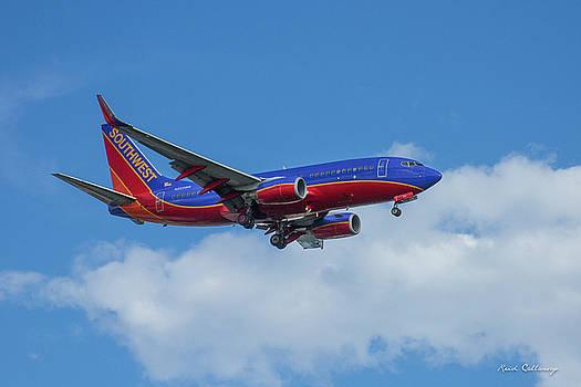 Reid Callaway - Southwest Airlines Jet N223NW Color Perfect 2 Atlanta Georgia