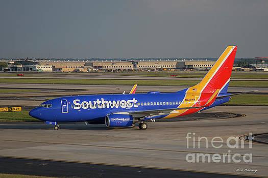 Reid Callaway - Southwest Airlines Jet N927NW Hartsfield Jackson Atlanta International Airport Art