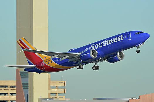 Southwest Boeing 737-8 Max N8709Q Phoenix Sky Harbor October 2 2017 by Brian Lockett