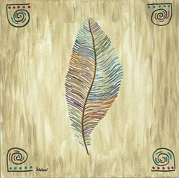 Southwest Feather by Susie WEBER