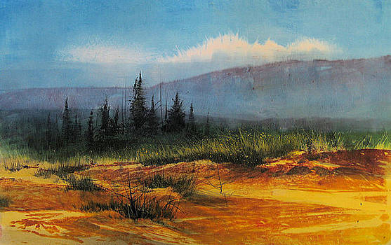 Southwest Landscape by Robert Carver