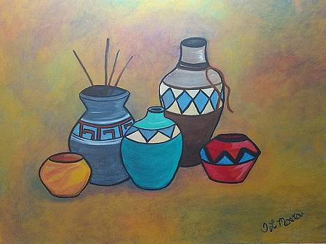 Southwest pottery by Tina Mostov