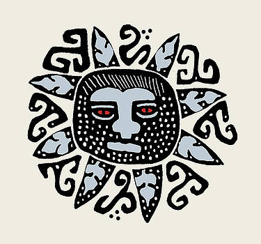 Southwest Tucson Sun by Vagabond Folk Art - Virginia Vivier