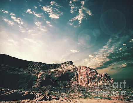 Southwestern Desert Sunset by Phil Perkins