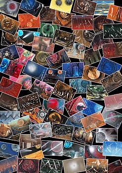 Jason Girard - Space Art Collage
