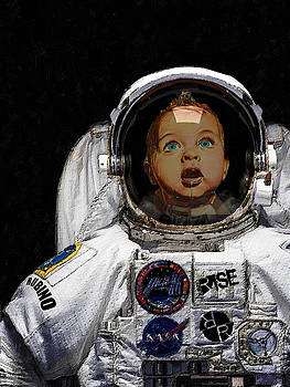 Space Baby by Tony Rubino
